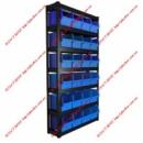 Стеллаж складской с складскими ящиками 350*210*200мм