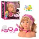 Кукла BD 1318 голова для макияжа и причесок