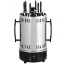 Электрошашлычница Domotec BBQ 1000W Серебристо-черный