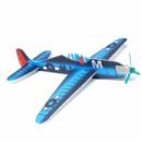 Детский планирующий самолетик с пропеллером