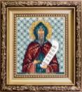 Набор для вышивки бисером Икона святой равноапостольный Кирилл