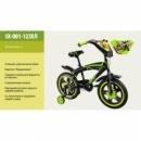 Велосипед 12д детский SX-001-12 c задним и ручным тормозом, каретка «Американка »