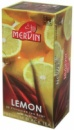 Чай Mervin черный вкусом лимона пакетированный 25*2 грам