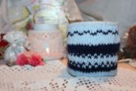 Чехол-грелка на чашку с орнаментом/Чохол-грілка на чашку