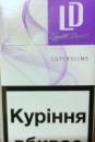 сигареты Лд виолет слимс(LD violet slims)