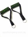 Ручки зеленые для эспандеров или тренажеров в комплекте 2 шт.