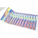 Зубная щетка 12 штук на листе 4 цвета
