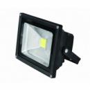 EUROELECTRIC LED Прожектор COB чёрный 30W 6500K classic