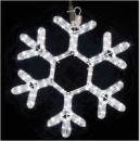 DELUX MOTIF Snowflake белый 400х360