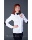 Белая рубашка с бабочкой