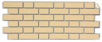 Фасадная панель Fineber Облицовочный кирпич Цвет Желтый