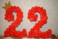 Бумажные цифры/ 3D буквы