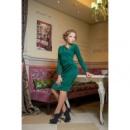 Платье классическое Мишель,длинный рукав,скл№1
