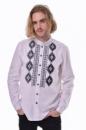 Вышитая мужская сорочка 2KOLYORY «Звага» L Белый (4005-L)