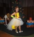 Прокатное нарядное детское платье П009