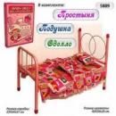 Кроватка для кукол 5889