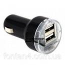 Автозарядка USB от прикуривателя 2 выхода