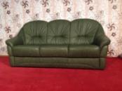 Кожаный мягкий диван производства Германии