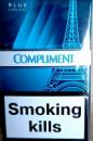 сигареты Комплимент синий белая сигареты (COMPLIMENT BLUE KING SIZE)
