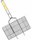 Решетка для барбекю Kamille «Скаут» с антипригарным покрытием 46х25.5х2см