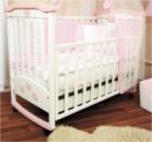 Детская кроватка Верес Соня ЛД 2 с аппликацией