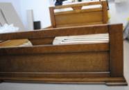 Ліжко деревяне дубове Модерн 160*200
