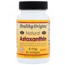 Healthy Origins, Астаксантин, 4 мг