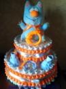 Торт из подгузников « Кот Тима»