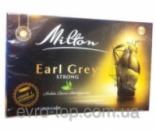 черный чай milton Earl Grey strong (насыщенный) 80 пакетиков