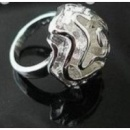 Кольцо Роза / серебро