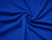 Футер двунитка Пенье синий электрик цвет, купить оптом от рулона