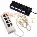 USB-hub (Хаб) (разветвитель) на 4 порта, активный