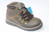 Демисезонные ботинки 1102-9 ТМ. Солнце на шнурках оливковые.