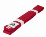 Пояс для единоборств adidas Club красный