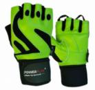 Рукавички для фітнесу PowerPlay 1064 D Зелені L