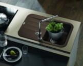 Мойка кухонная из искусственного камня Franke Pebel