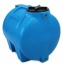 Купить горизонтальные пластиковые бочки для хранения воды на 150 литров.