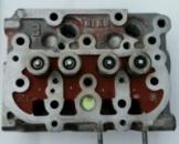 Головка блока цилиндров двигателя Кубота Kubota Z400/Z482 СТ-2.29 29-70001-00 б\у