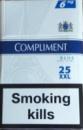 Сигареты Комплимент деми 25 шт,COMPLIMENT BLUE DEMI SLIMS 25 XXL