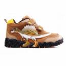 Ботинки Спинозавр коричневые