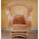 Кресло плетеное из лозы «Королевское»