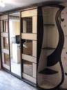 Шкаф купе венге с декором «Луизиана»