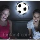 Светильник 3D «Футбольный мяч»