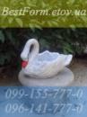 Форма для кашпо «лебедь малый»