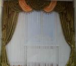Комплект штор с ламбрекеном для комнаты «Венеция»