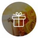 Мини открытки для букетов и подарков