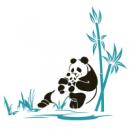 Интерьерная Наклейка Panda