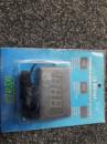Вольтметр с проводом 12V (3 знака)/выкл