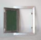 Потолочные люки под обои и покраску модель Стандарт (поворотная дверца)