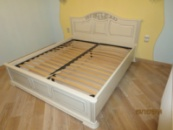 Ліжко деревяне дубове Анна-Марія 160*200